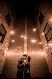 Buffalo Wedding - JimmyLee and Ashley - Courtyard at the Lafayette