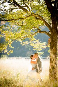 Buffalo Niagara Falls Whirlpool Park - Bride and Groom
