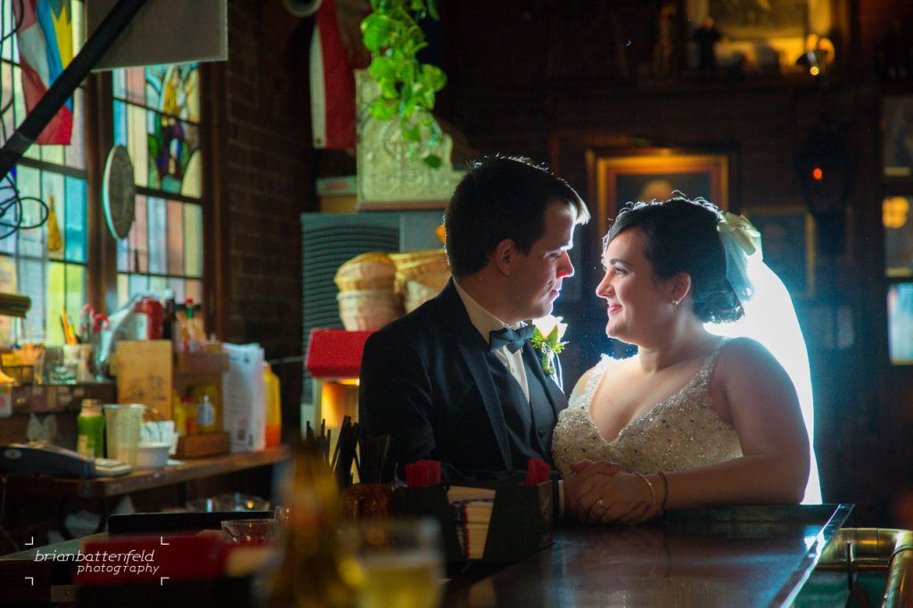 Buffalo Bride and Groom at Founding Fathers